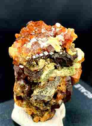 Garnet Crystal , Natural Undamaged Garnet Crystal Bunch