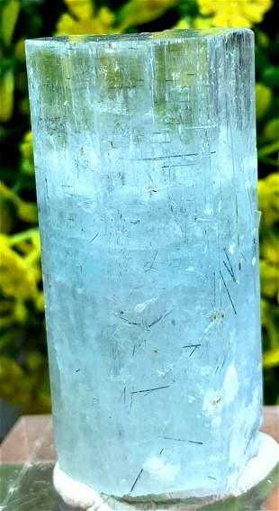 Aquamarine Crystal , Natural Aquamarine with