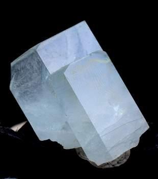Aquamarine Crystal , Natural Aquamarine Specimen from