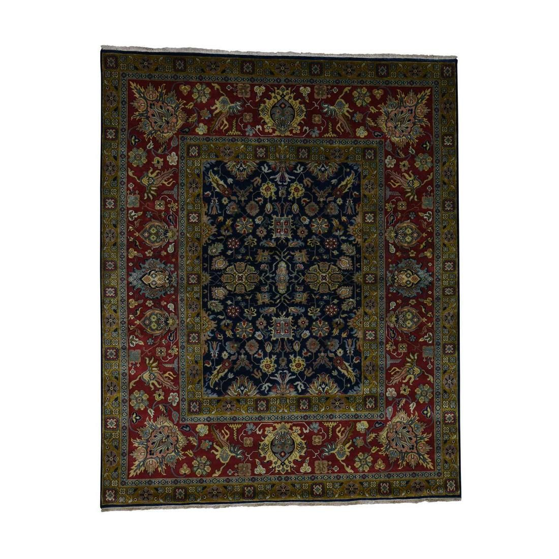 300KPSI New Zealand Wool Hand-Knotted Oriental Rug