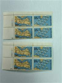 Scott No. 11937-38 2 each MNH Plate Block