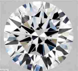 GIA CERT 1.06 CTW ROUND DIAMOND DIF