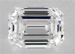 GIA CERT 1.60 CTW EMERALD DIAMOND DVS1