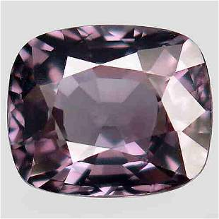 natural pink purple spinel -2,90 ct 1,2