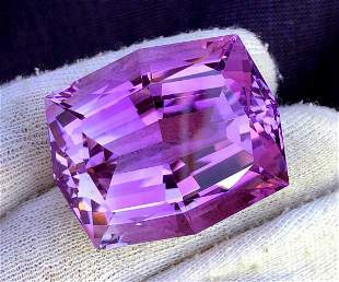 Fancy Cut Natural Amethyst Loose Gemstone Big Size