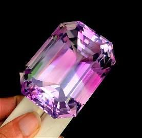 Natural Fancy Cut Purple Amethyst Loose Gemstone From