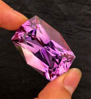 Fancy Cut Natural Amethyst Loose Gemstone Big Size -