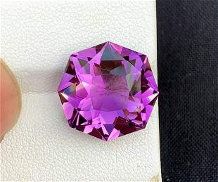 Fancy Cut Natural Amethyst Loose Gemstone - 11.50
