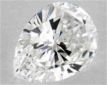 GIA CERT 2.02CTW PEAR DIAMOND EVS1