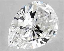 GIA CERT 2.02CTW PEAR DIAMOND EVS1