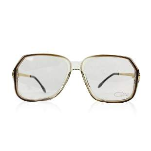 Cazal Vintage Eyeglasses 625 Clear Brown 56/17 140 mm