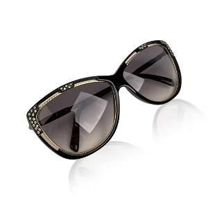 Ted Lapidus Vintage TL 17 01 Sunglasses Crystals 62-16