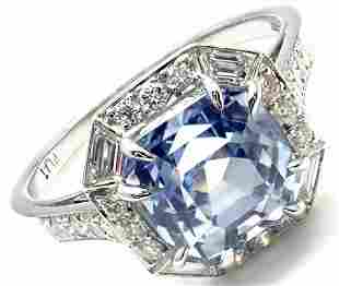 Rare! Authentic Ivanka Trump Platinum Diamond Sapphire