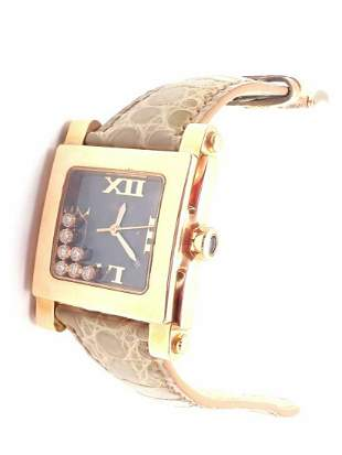 New! Authentic Chopard Happy Sport 18k Rose Gold