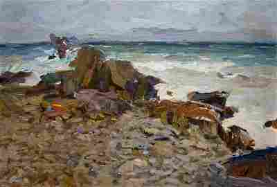 Oil painting Seascape Zakharov Fedor Zakharovich