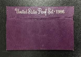 1986 United States Proof Set