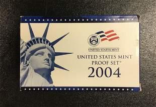 2004 United States Mint Proof Set