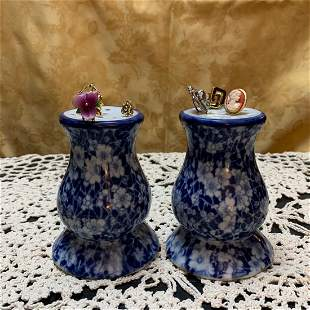 Delft Hat Pin Holders