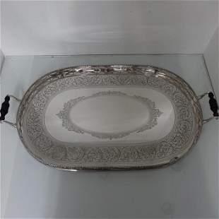 19th Century Victorian Antique Sterling Silver Tea &