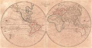 Chart of the World As Known to the Ancients On