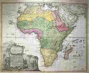 Africa 1762 by Homann Heirs