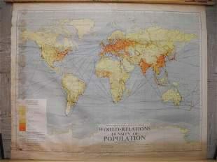 World - Relations Density of Population