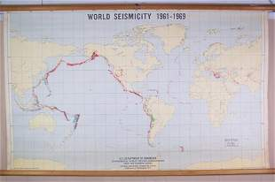World Seismicity 1961-69