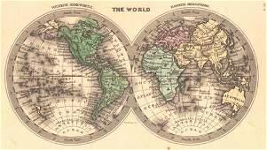 World Western Hemisphere Eastern Hemisphere | The World