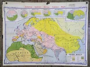 Denoyer- Geppert Social Science Maps. Ancient World