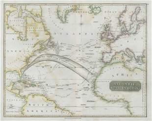Atlantic or Western Ocean. Gulf Stream, Nelson's &