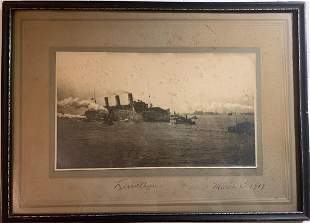 Photograph of the ship U.S. Leviathan