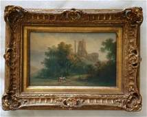 19th Century Painting on Panel