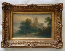 19th Century Painting on Panel