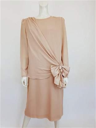 Emilio Pucci beige silk dress