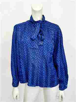 Givenchy blue blouse