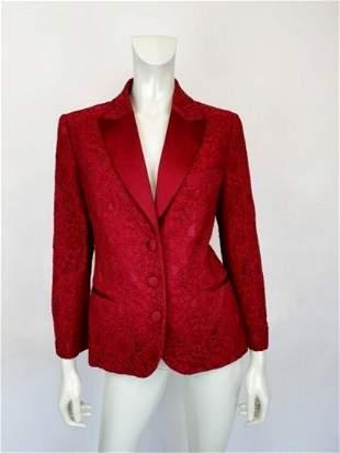 Love Moschino deep-red blazer