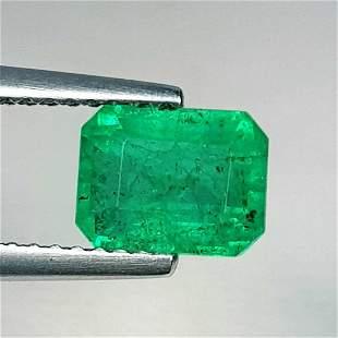 Natural Emerald Octagon Cut 1.55 ct
