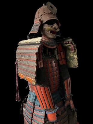 Exceptional Daimyo Yoroi Armor from the Early Edo