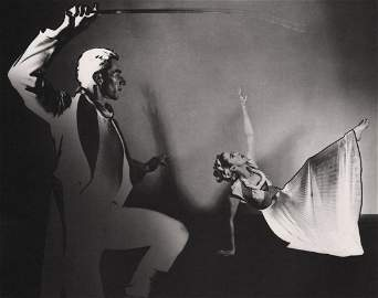 BARBARA MORGAN - Martha Graham and Erick Hawkins, 1970