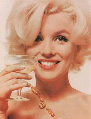 BERT STERN - Marilyn Monroe (color)