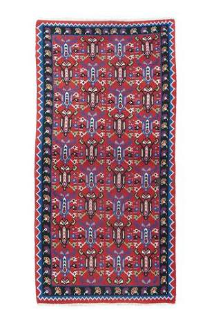 "Vintage Turkish, 3'4"" x 7'"