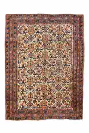 "Persian tribal Afshar, 4'11"" x 6'8"""