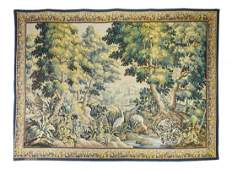 "French Aubusson Tapestry, 6'8"" x 9'5"""