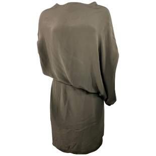 Halston Green Olive Mini Dress Size 42
