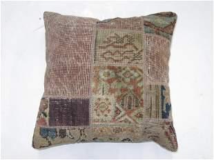 Assortment Rug Patchwork Rug Pillow