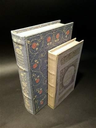 Wood Faux Book Secret Box