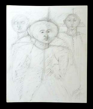 France Hawaii Outsider Art The Visitors Claude Vedel