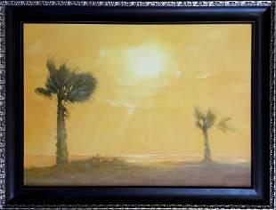 Oil painting Egypt Korkishko Vasily