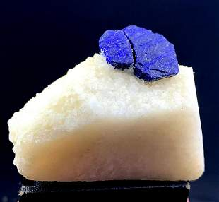 Natural Lapis Lazuli Mineral Specimen - 147 g , 70*42