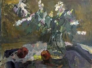 Oil painting Still life Petrashevsky Stanislav
